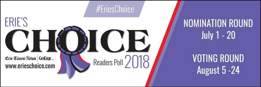 Help Nominate Dr. Mahoney for Erie's Choice 2018!